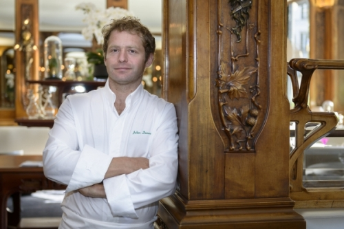 Lucas Cartons chef Julien Dumas