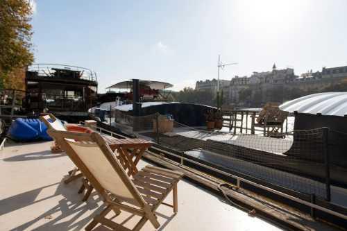 Husbåd terrasse